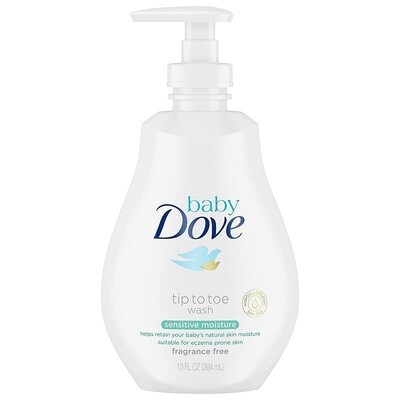 Dove Baby Tip to Toe Wash and Shampoo, 13 Ounce