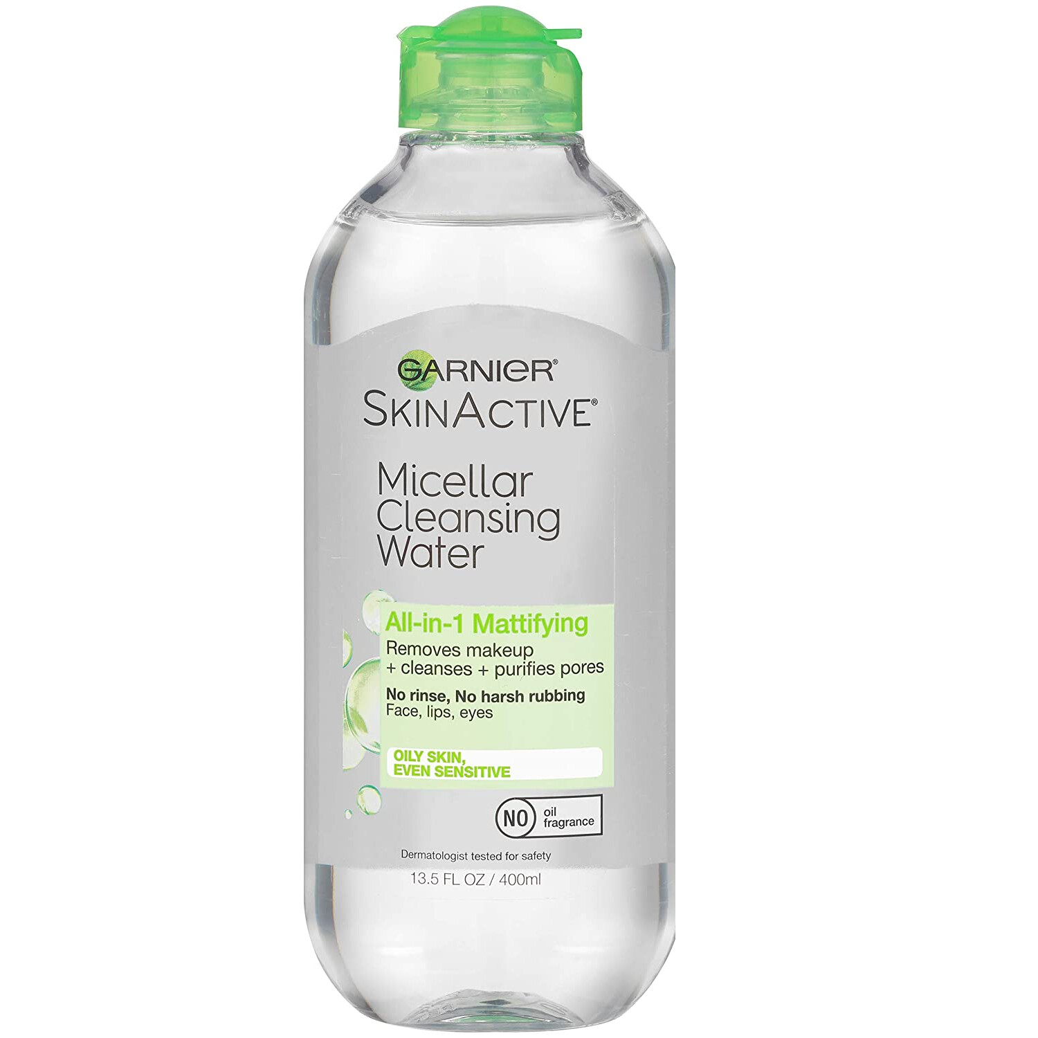 Garnier SkinActive Micellar Cleansing Water, For All Skin Types, 13.5 fl Ounce