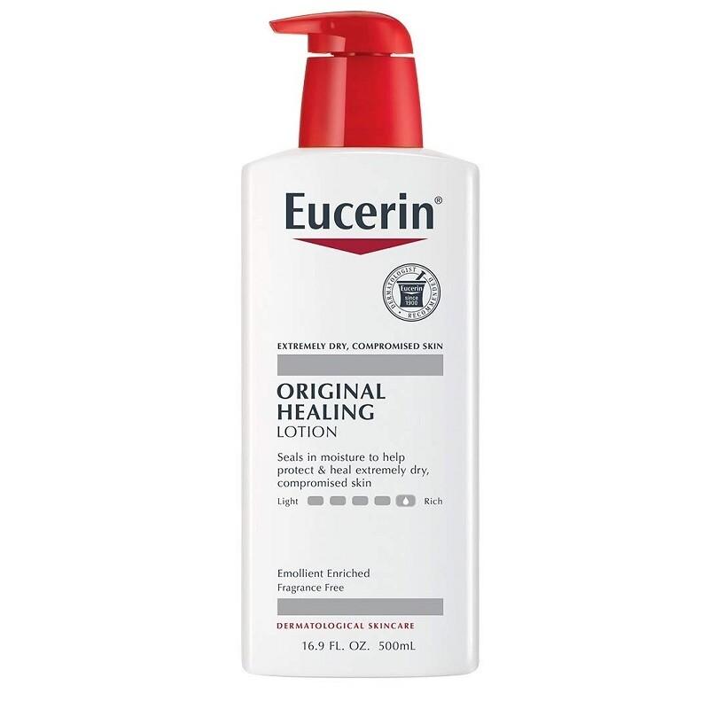 Eucerin Lotion Original Healing, 16.9 Ounce
