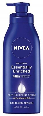 Nivea Essentially Enriched Body Lotion, Dry to Very Dry Skin, 16.9 fl Ounce