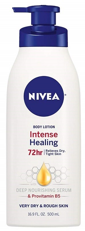 Nivea Intense Healing Body Lotion for Very Dry Skin, 16.9 fl Ounce