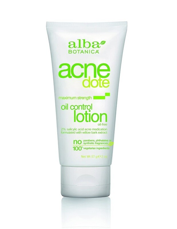 Alba Botanica Acnedote Oil Control Lotion, 2 Ounce