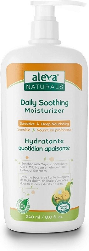 Aleva Naturals Daily Soothing Moisturizer for Babies Face and Body, 8 fl Ounce