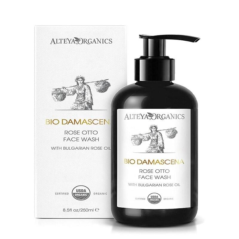 Alteya Organics BioDamascena Face Wash, 8.5 fl Ounce
