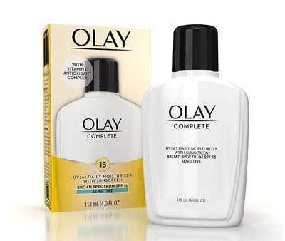 Olay, Complete All Day Moisturizer with SPF 15, 4 fl Ounce