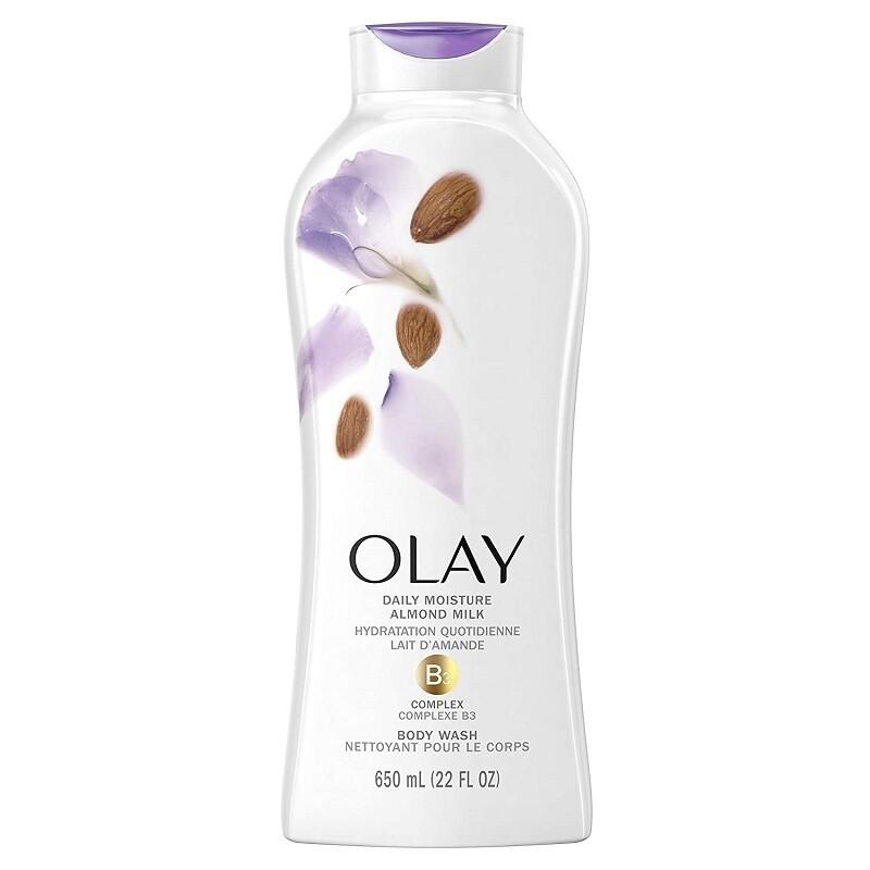 Olay Daily Moisture with Almond Milk Body Wash, 22 fl Ounce