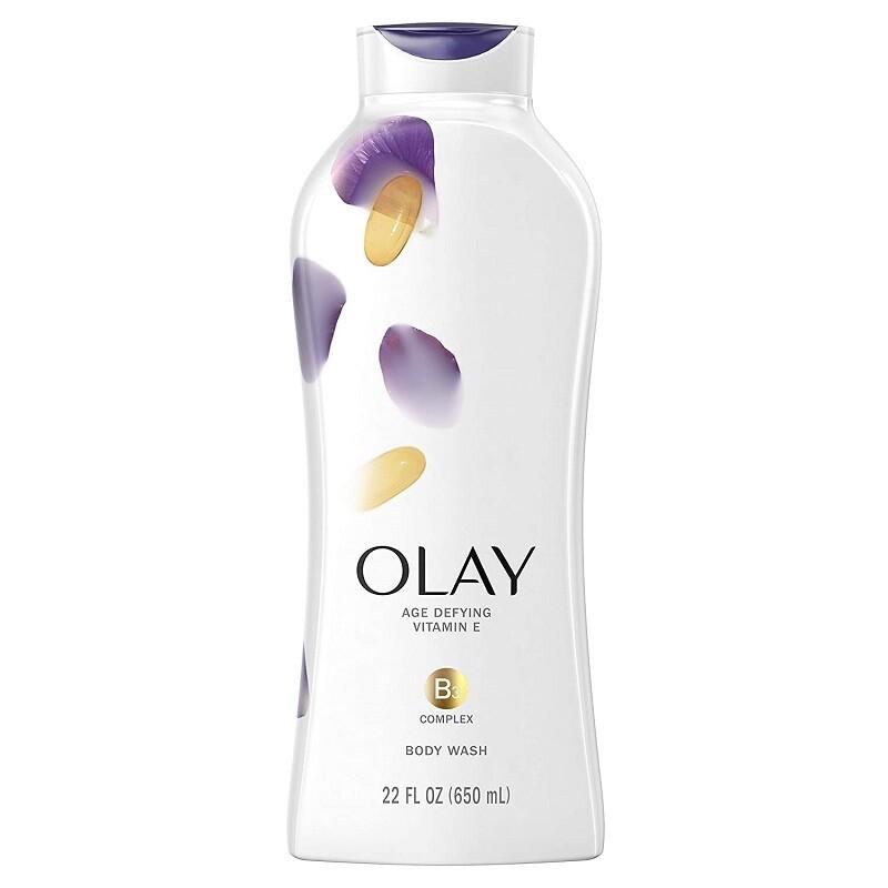 Olay Age Defying Body Wash with Vitamin E, 22 fl Ounce