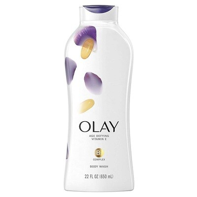 Olay Age Defying Body Wash with Vitamin E, 22 fl Ounce