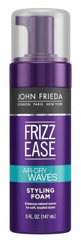 John Frieda Frizz Ease Dream AirDry Waves Hair Style Foam, 5 Ounce