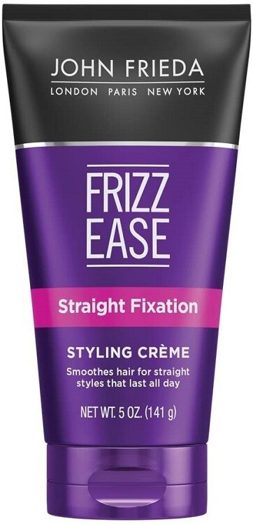 John Frieda Frizz Ease Straight Fixation Hair Styling Creme, Voilet, 5 Ounce