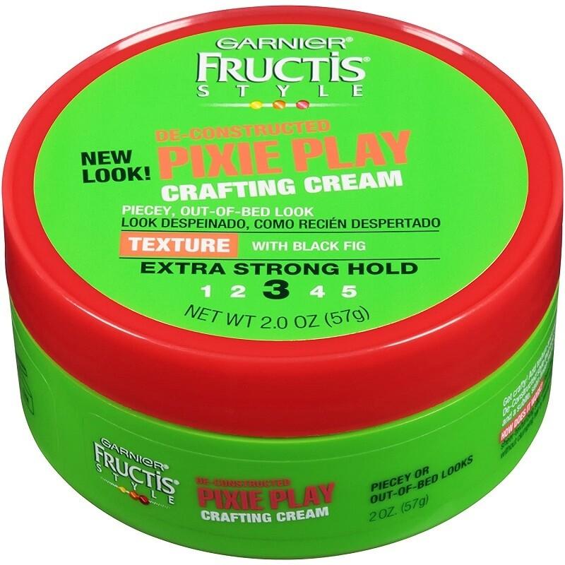 Garnier Fructis Style Pixie Play Crafting Cream, 2 Ounce