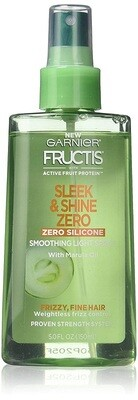 Garnier Fructis Sleek & Shine Zero Smoothing Light Spray, 5 Ounce