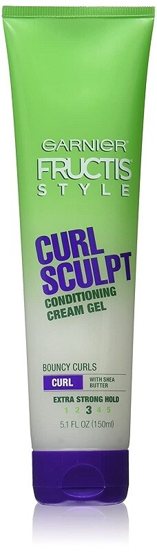 Garnier Fructis Style Curl Sculpt Hair Conditioning Cream Gel, 5 Ounce