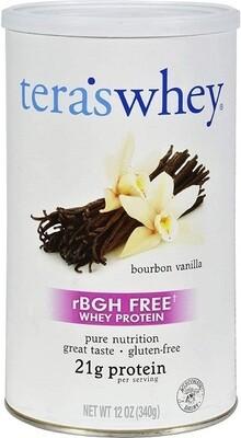 Teras Whey Protein, Bourbon Vanilla, 12 Ounce