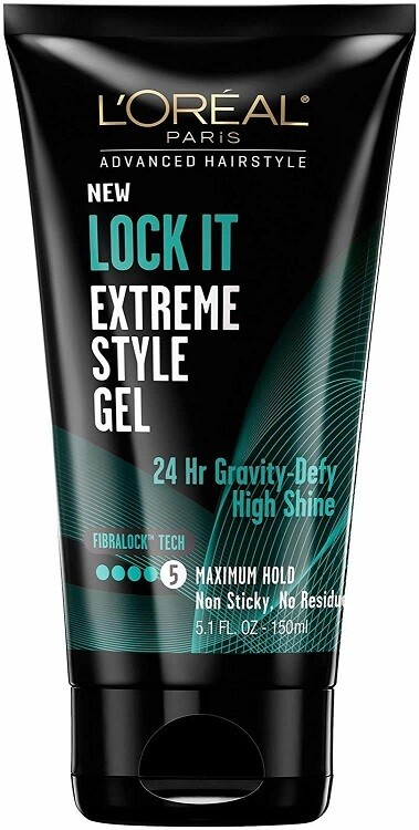 L'Oreal Paris Advanced Hairstyle LOCK IT Extreme Hair Style Gel, 5.1 fl Ounce