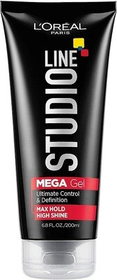 LOreal Paris Studio Line Mega Hair Gel, 6.8 fl Ounce