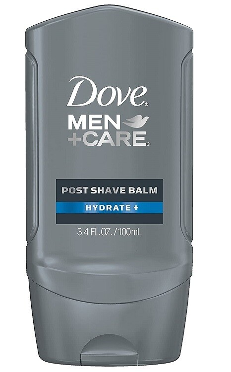 Dove Men+Care Post Shave Balm Hydrate 3.4 Ounce