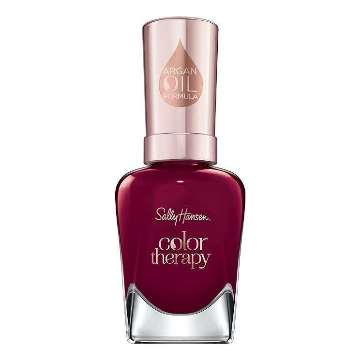Sally Hansen Color Therapy Nail Polish, Unwined, 1 Count