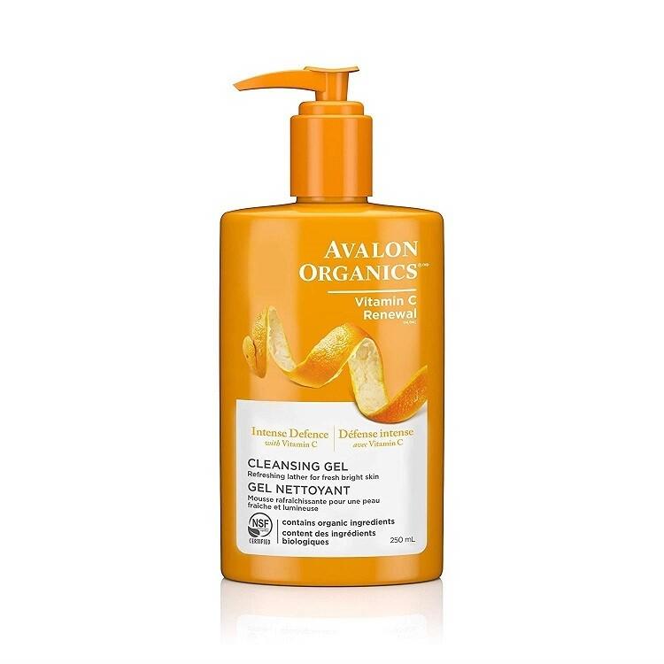 Avalon Organics Intense Defense Cleansing Gel, 8.5 Ounce