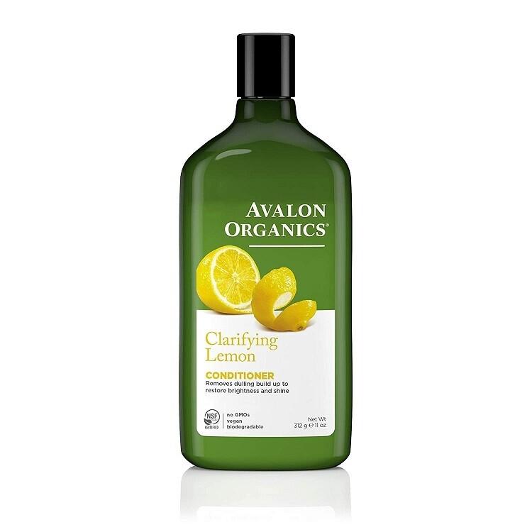 Avalon Organics Lemon Clarifying Hair Conditioner, 11 Ounce