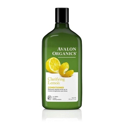 Avalon Organics Lemon Clarifying Hair Conditioner, 11 Ounce