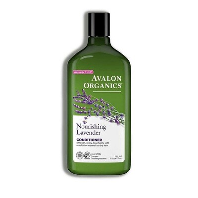 Avalon Organics Lavender Nourishing Hair Conditioner, 11 Ounce