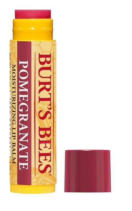 Burt's Bees 100% Natural Moisturizing Lip Balm, Pomegranate. 0.15 Ounce, Pack of 1