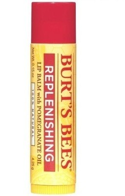 Burt's Bees Lip Balm, Pomegranate Oil, 0.15 Ounce, Pack of 1