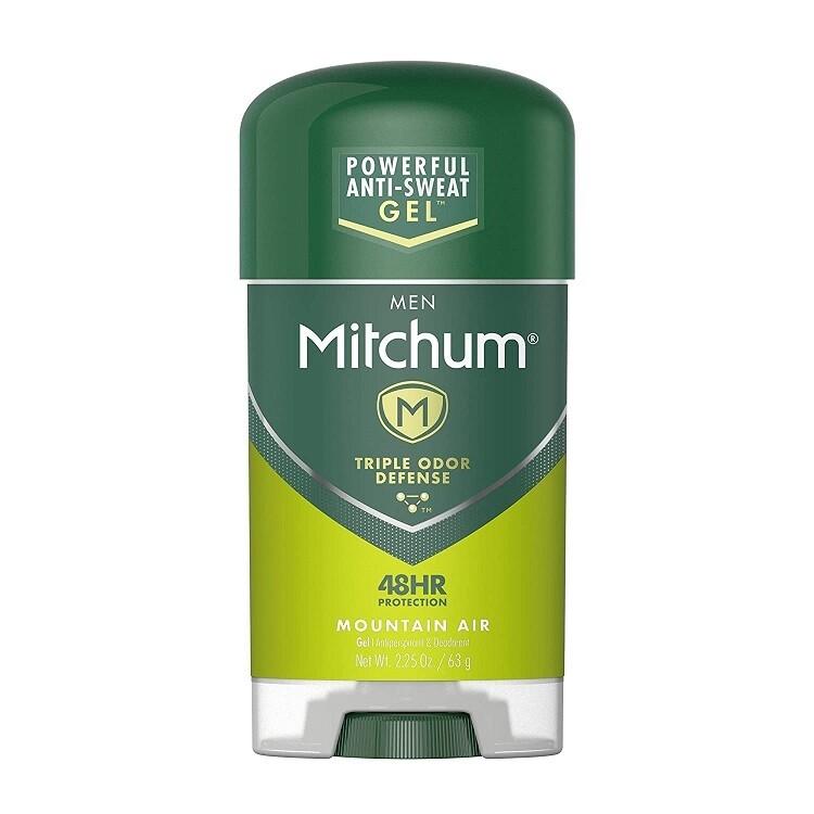 Mitchum Clear Gel Antiperspirant Deodorant, Mountain Air, 2.25 Ounce