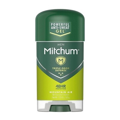 Mitchum Clear Gel Antiperspirant Deodorant, Mountain Air, 2.25 Ounce