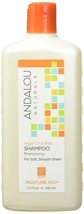 Andalou Naturals Argan Oil & Shea Moisture Rich Hair Shampoo, 11.5 Ounce