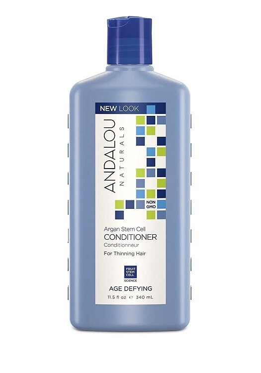 Andalou Naturals Argan Stem Cell Age Defying Hair Conditioner, 11.5 Ounce