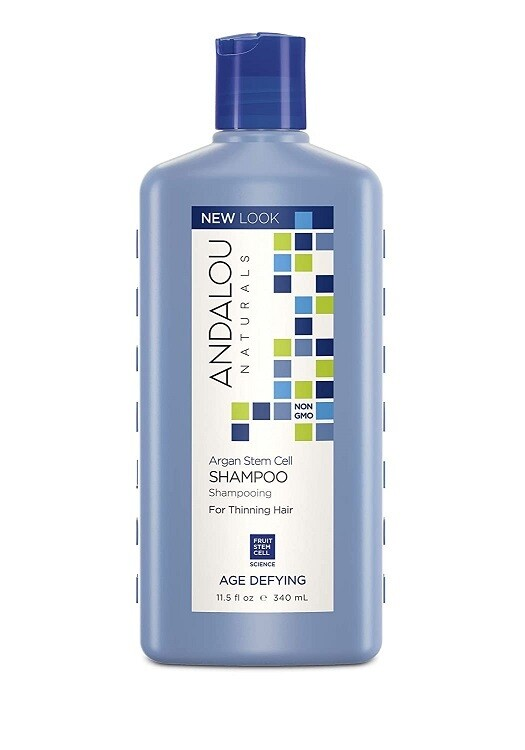 Andalou Naturals Argan Stem Cell Age Defying Hair Shampoo, 11.5 Ounce
