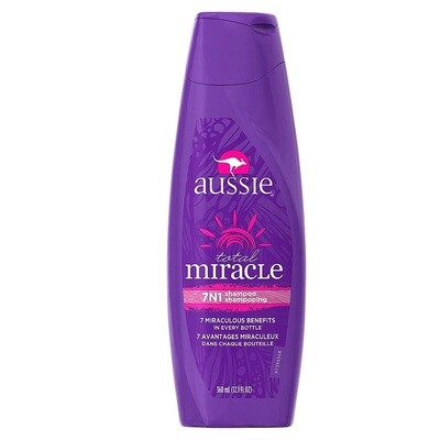 Aussie Total Miracle Collection 7N1 Shampoo, 12.1 fl Ounce