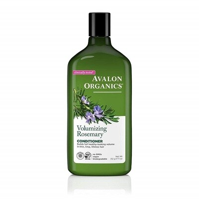 Avalon Organics Volumizing Rosemary Hair Conditioner, 11 Ounce