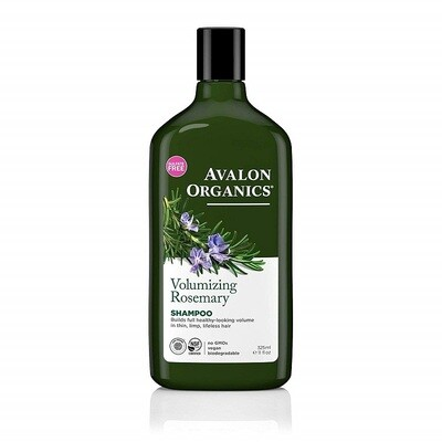 Avalon Organics Volumizing Rosemary Hair Shampoo, 11 Ounce