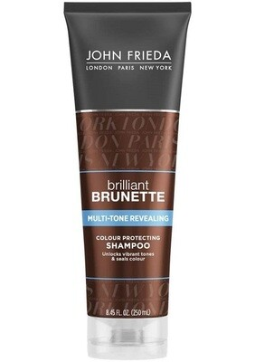 John Frieda Brilliant Brunette Multi Tone Revealing Hair Shampoo, 8.45 fl Ounce