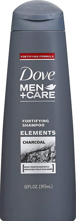Dove Men Care Charcoal Hair Shampoo, 12 fl Ounce