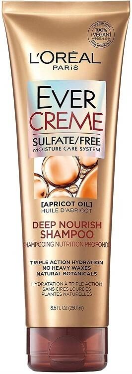 LOreal Paris EverCreme Deep Nourish Hair Shampoo, 8.5 fl Oz