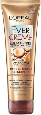 LOreal Paris EverCreme Deep Nourish Hair Shampoo, 8.5 fl Oz