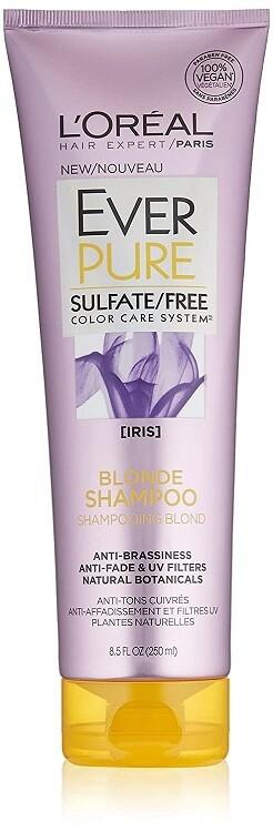 LOreal Paris EverPure Blonde Hair Shampoo 8.5 fl Ounce