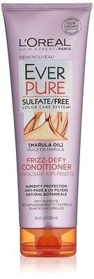 LOreal Paris EverPure Frizz-Defy Hair Conditioner, with Marula Oil, 8.5 fl Ounce
