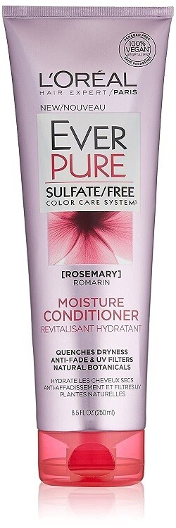 LOreal Paris EverPure Moisture Hair Conditioner, 8.5 fl Ounce