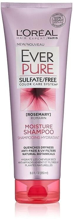 LOreal Paris EverPure Moisture Hair Shampoo, 8.5 fl Ounce