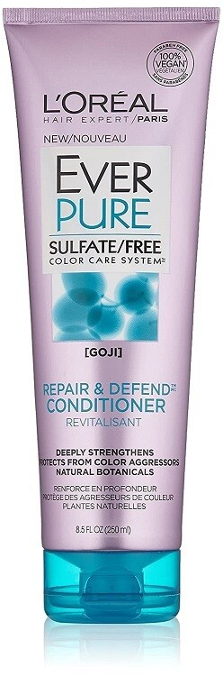 LOreal Paris EverPure Repair and Defend Hair Conditioner with Goji, 8.5 fl Ounce