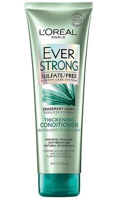 LOreal Paris EverStrong Thickening Hair Conditioner, with Rosemary Leaf, 8.5 fl Ounces