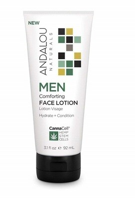 Andalou Naturals Men Comforting Face Lotion, 3.1 Ounce