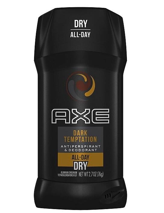 Axe Antiperspirant Stick for Men Dark Temptation, 2.7 Ounce
