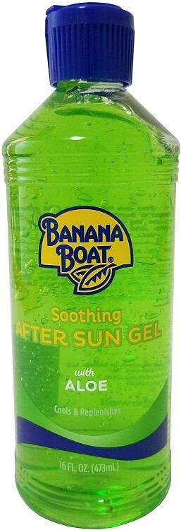 Banana Boat Soothing After Sun Gel with Aloe, 16 Ounce