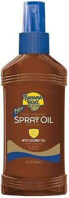 Banana Boat Dark Tanning Oil Spray SPF 4, 8 Ounce